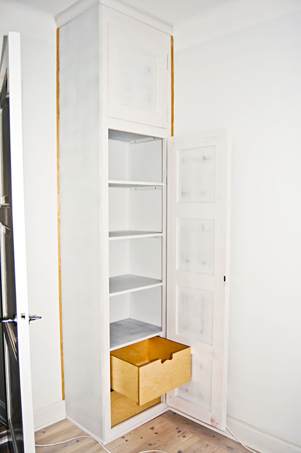 Platsbyggd garderob A Kollberg Finsnickeri Nynäshamn& Stockholm